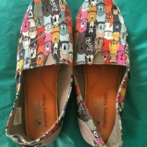 BOBS For Dogs Slip On Flats shoes slippers Size 9